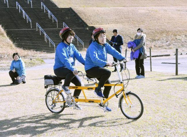 四万十市観光協会のタンデムバイク