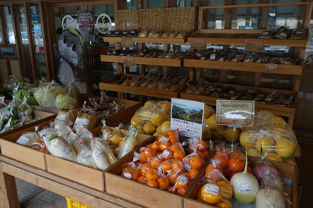 道の駅四万十とおわの野菜と果物