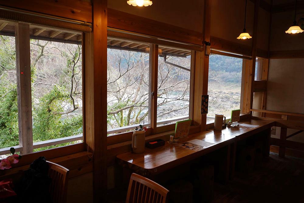 とおわ食堂の眺め