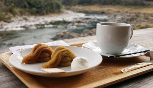 【おちゃくりcafe】四万十川の絶景を眺めながら四万十栗スイーツを食べよう!