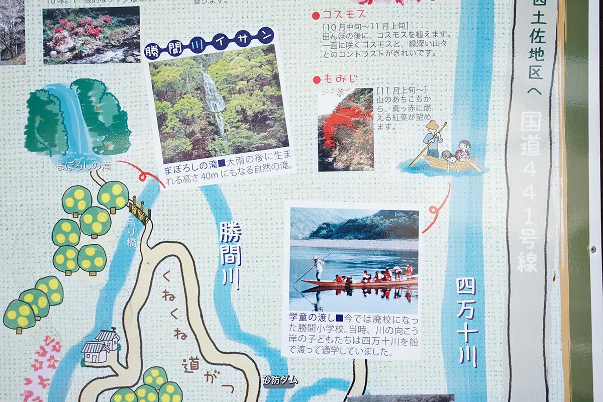 勝間川のご案内