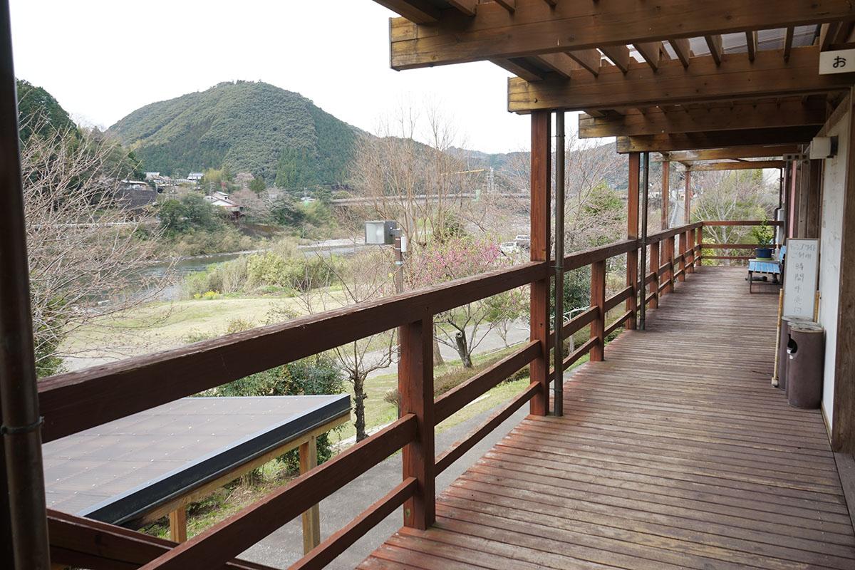 四万十川 川遊び公園 ふるさと交流センターのキャンプサイト