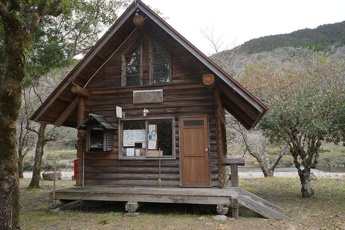 三島キャンプ場の管理棟