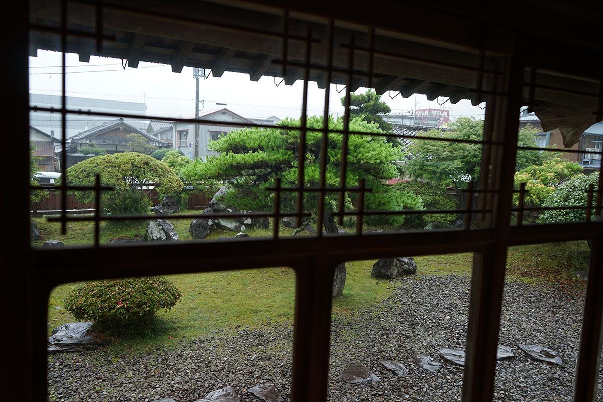 古民家カフェ半平の雨