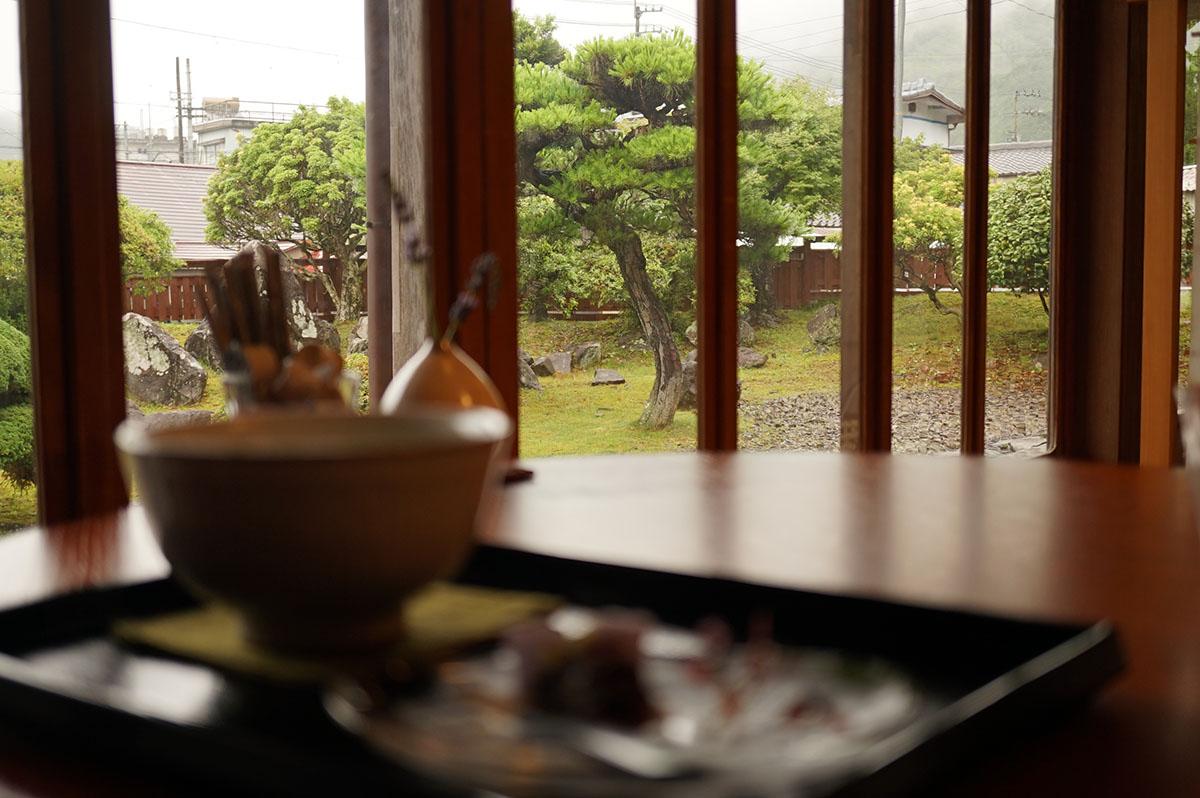 古民家カフェ半平の景色