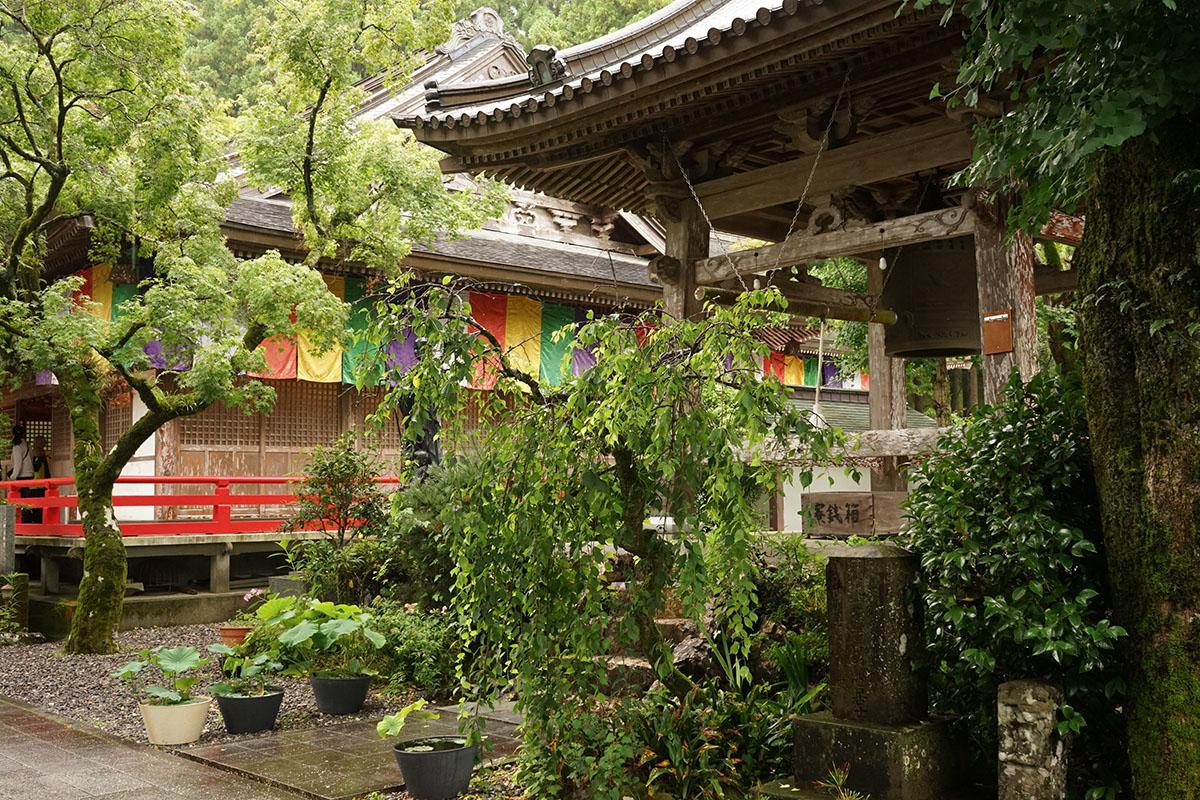 岩本寺の風景