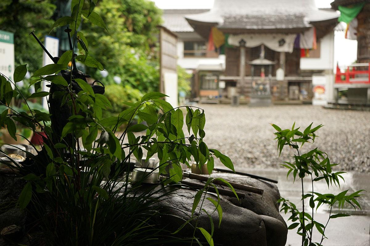 岩本寺の手水