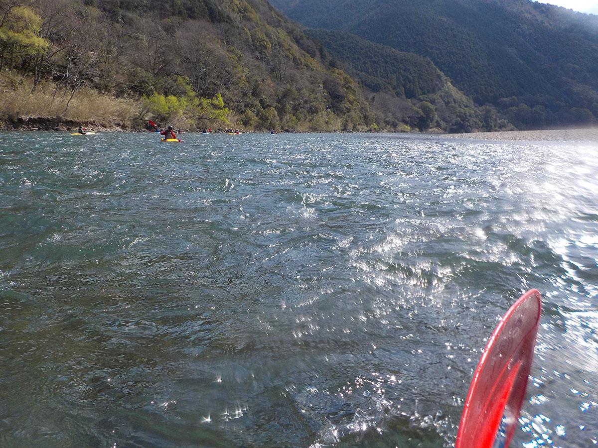 カヌー館のカヌー体験