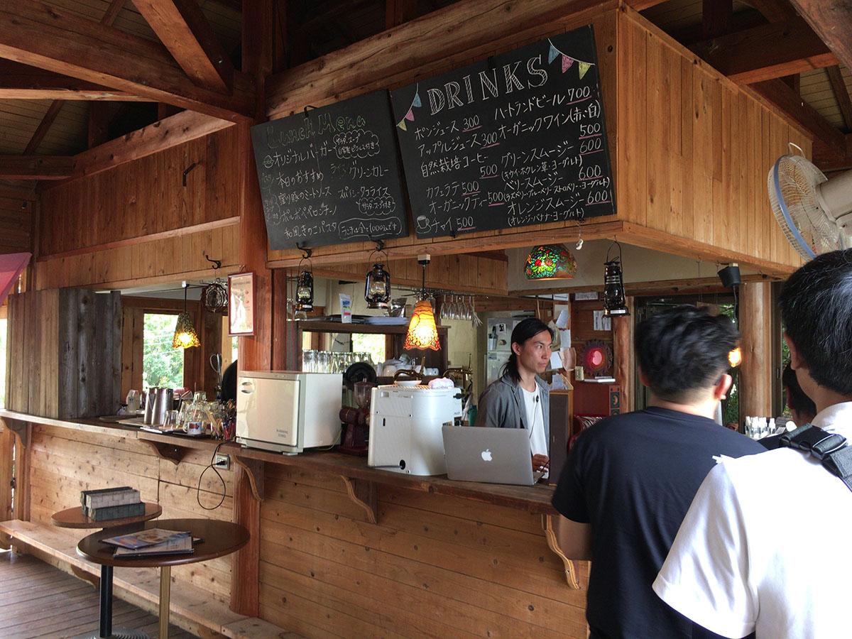 山みず木のカフェ