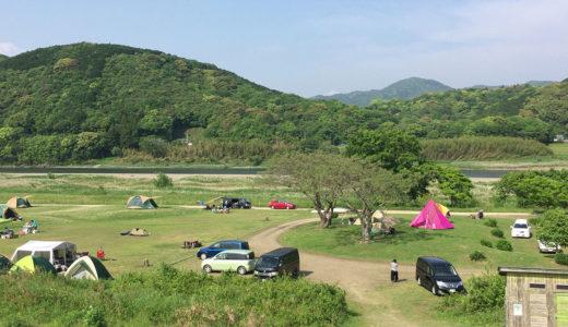 【四万十川キャンプ場】四万十川沿いの無料のキャンプ場が無料とは思えない居心地の良さ