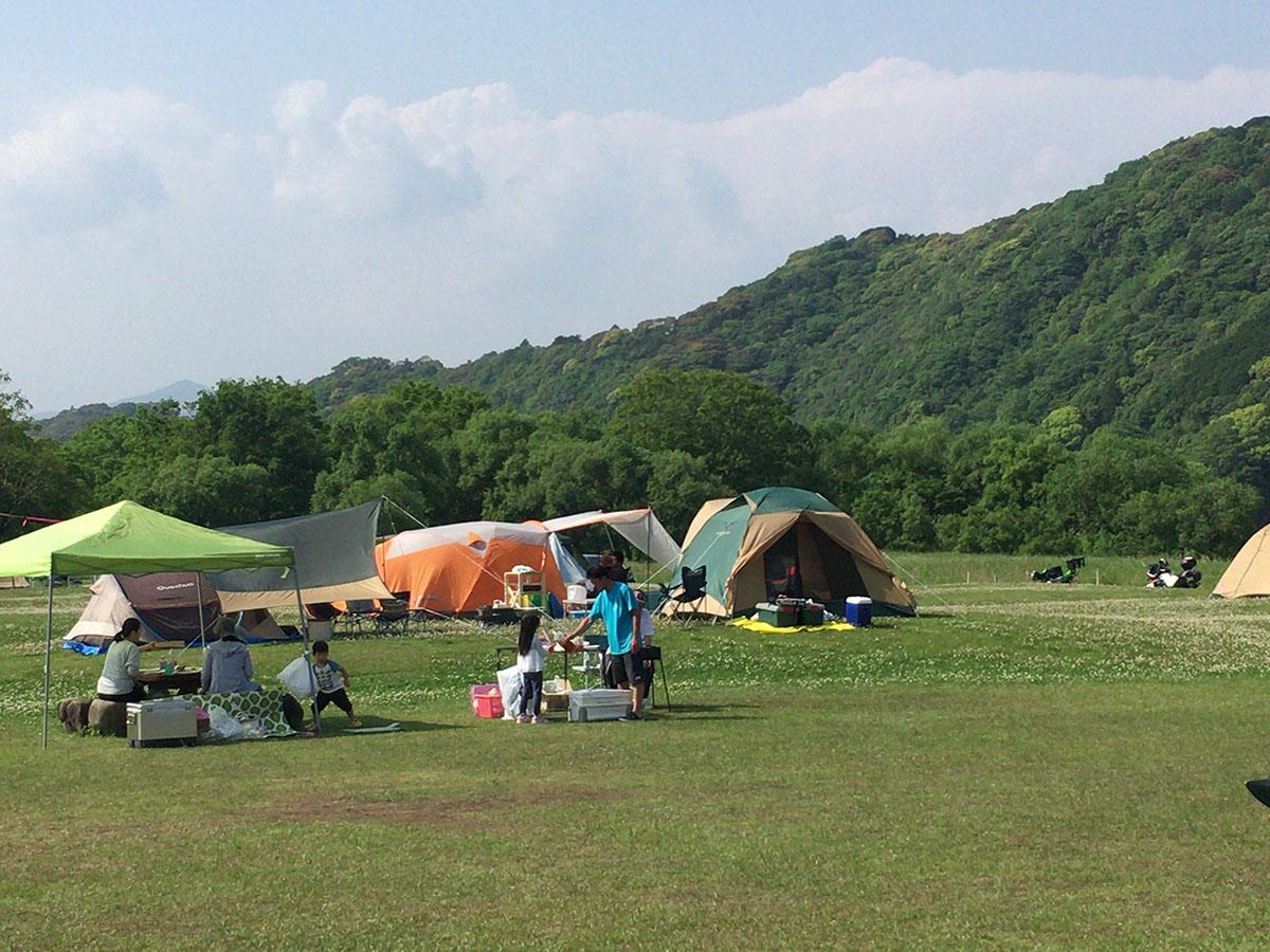 四万十川キャンプ場